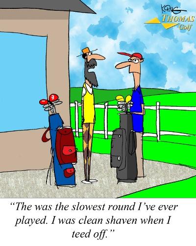 Slowest Round Golf Joke