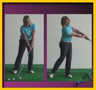 Basics for Correct Golf Punch Shot, Women Golfer Tip 2