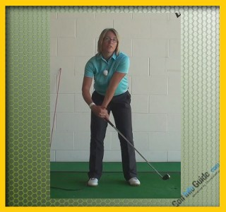 Cause and Cure Chip Shots Fat and Thin Women Golfer Tip 1