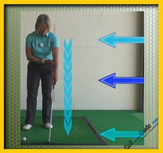 Cause and Cure Chip Shots Fat and Thin Women Golfer Tip 2