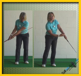 Cause and Cure Chip Shots Fat and Thin Women Golfer Tip 3