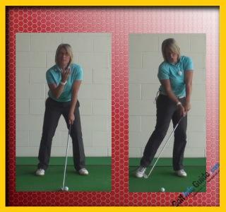 Correct Head Movement For Full Golf Swing Women Golfer Tip 1