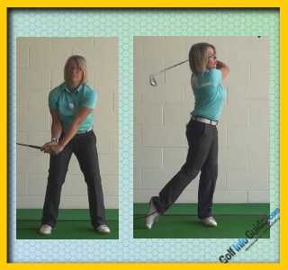 Correct Swing Release for Better Golf Shots, Women Golfer Tips 1