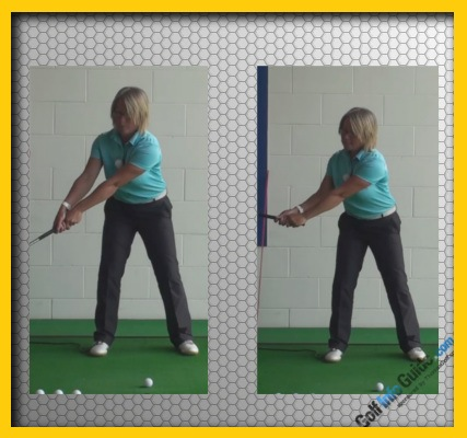 Correct and Fix One Golf Swing Problem At a Time, Women Golfer Tip 1