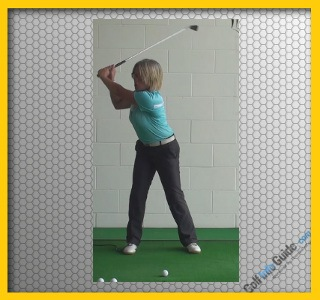 Correct and Fix One Golf Swing Problem At a Time, Women Golfer Tip 2