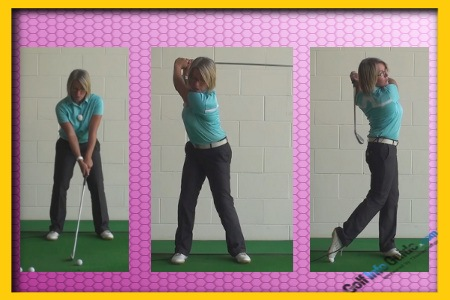 Fast Golf Swing Is Alright Key Is To Keep It Consistent, Women Golfer Tip 1