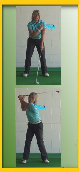 Fix For Women Golfers - Golf Swing Needs More Than Just An Arm Swing A