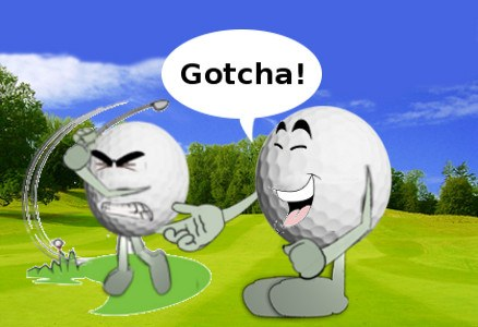 Get In The Hole Golf Joke 1