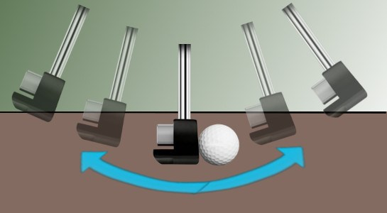 Grip is Key to Straight-Back-Straight-Through Putting Stroke 1