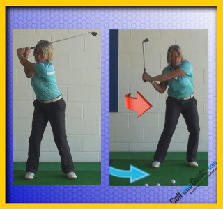 How To Best Improve Golf Motor Skills, Women Golfer Tip 2