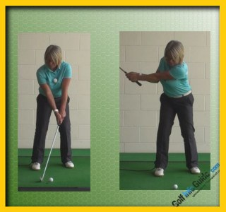 How To Create A Knock-Down Golf Shot, Swing Tip For Women 1