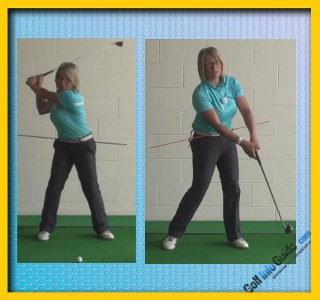 How to Create a Compact Golf Swing, Golf Swing Tip for Women 1