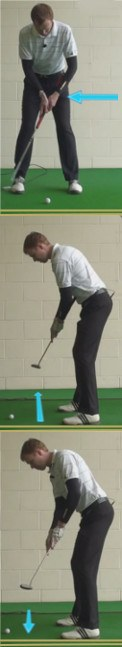 Kuchar's Arm Lock Putting Stroke Keeps Wrists Stable 2