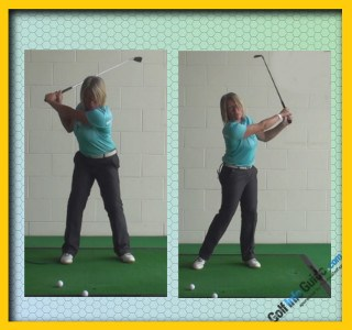 Ladies Golf Tip Fix Hitting The Ball Fat With This Simple Drill 1