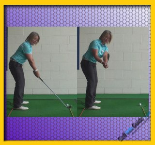 Ladies Golf Tip Stop Across-the-Line Backswing Move 1