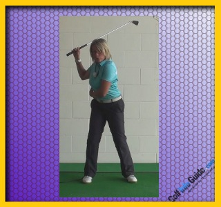 Should Your Left Heel Lift On The Backswing Golf Backswing Left Heel Up Or Down Women Golfer Tip 1