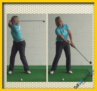 Stop Lifting And Start Swinging Your Golf Club, Golf Tip For Women 2