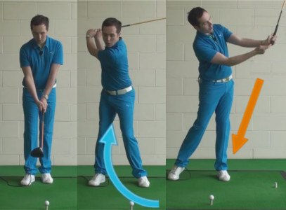 Stop your Golf Ball Slicing Drill The Wall Drill 1