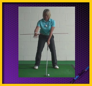 Swing with Your Body's Alignment, Not the Surroundings, Golf Swing Tip Fix For Women 1