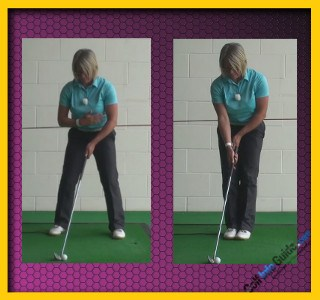 Swing with Your Body's Alignment, Not the Surroundings, Golf Swing Tip Fix For Women 2