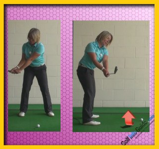 Takeaway Correct Shoulder Turn, Golf Swing Tip For Women 2