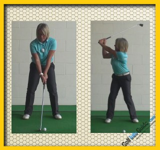 Tips To Fix And Correct An Early Release, Golf Swing Tip For Women 1