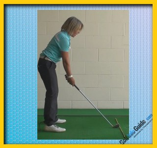 Toe Of The Club Head Up To Help Create Straighter Golf Shots, Golf Swing Tip For Women 1