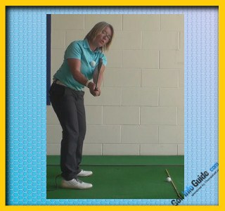 Toe Of The Club Head Up To Help Create Straighter Golf Shots, Golf Swing Tip For Women 2