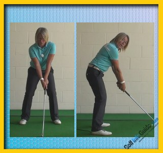 What Is A Stack And Tilt Golf Swing, Golf Swing Tip For Women 1