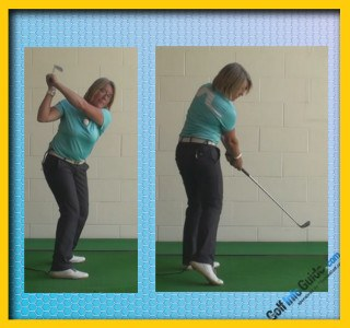 What Is A Stack And Tilt Golf Swing, Golf Swing Tip For Women 3