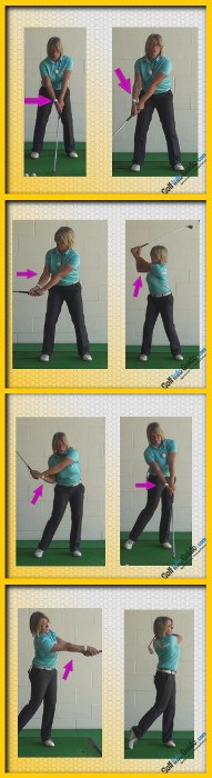 What Is The Correct Right Arm Swing Sequence From Start To Finish, Golf Swing Tip For Women A
