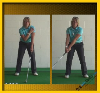 What Is The Right Golf Swing Sequence, Women Golfer Tip 1