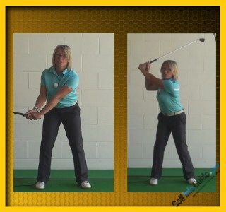 What Is The Right Golf Swing Sequence, Women Golfer Tip 2