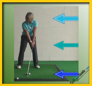 Which Is Best Sweeping Swing or Take a Divot Women Golfer Tip 1