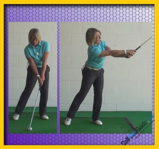 Women's No Backswing Golf Drill Can Help Fix Your Downswing 1