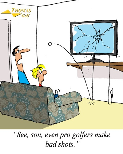 Bad Shots Golf Joke
