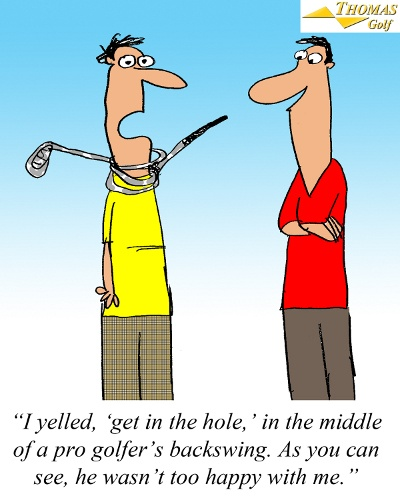 Get In The Hole Golf Joke