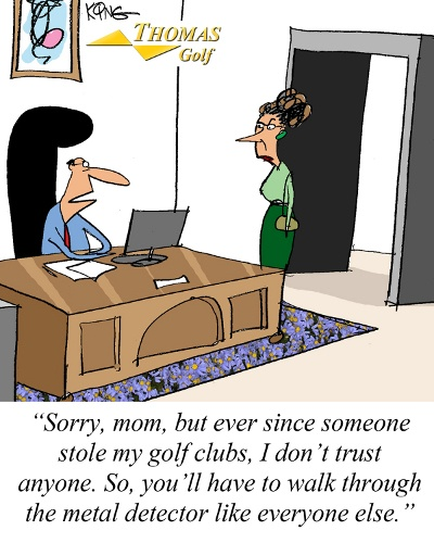 Metal Detector Golf Joke