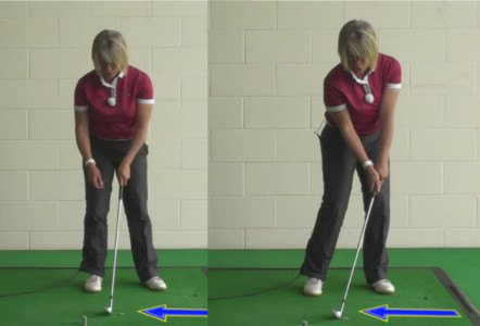 How To Chip Coins As A Training Drill, To Create The Correct Chipping Technique And Achieve The Best Golf Chip Shots For Women Golfers 1