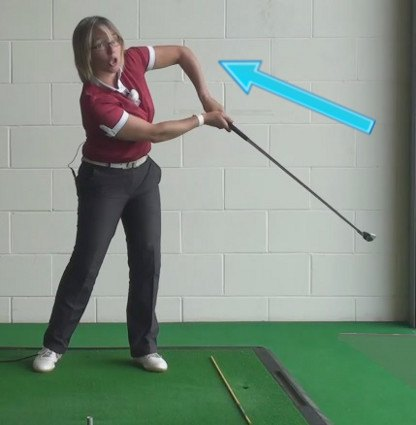 How To Fix A Chicken Wing Golf Slice For Women Golfers, When Playing Golf 1