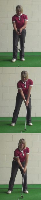How To Focus On Target When Playing Golf Shots. Golf Tips For Women Golfers 1