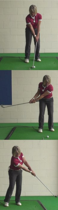 How To Play A Correct Bump-And-Run Golf Shot For Women Golfers 1