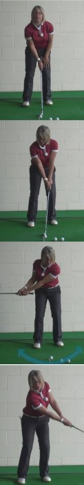 How Women Golfers Can Play Their Best Golf Shots When Faced With The Problem Of False Front Greens 1