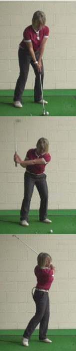 How Women Golfers Should Play Lob Wedge From A Tight Lie, For The Best Results 1
