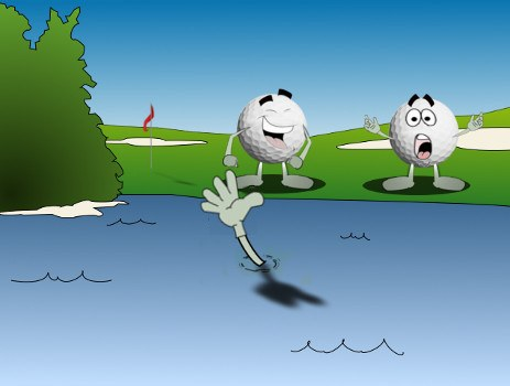 Immovable Object Golf Joke 2A