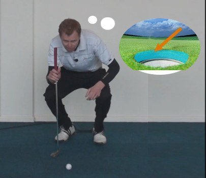 Limit Focus to Make Short Putts