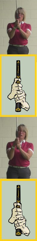 Overlapping Vs Interlocking Golf Grip What Is The Correct Way For Women Golfers To Hold The Golf Club 1