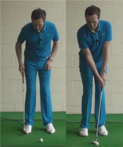 Stop Hitting Golf Wedge Shots Behind The Ball 1