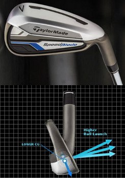 TaylorMade Introduces SpeedBlade Irons
