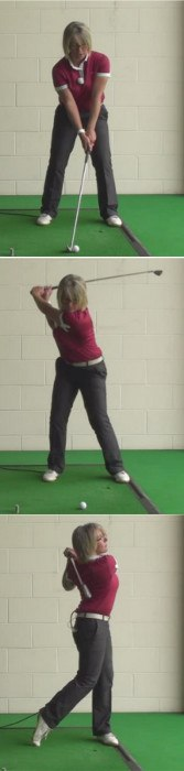 The Problem Of A Buried Lie In A Bunker And How To Play A Correct Golf Shot From This Position If You Are A Woman Golfer 1